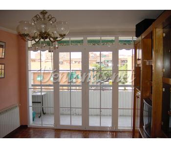 Ventana de aluminio para terrazas 2 - Tipos de toldos para balcones ...