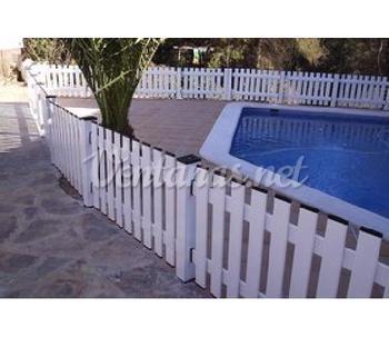 Vallas decorativas y protecci n de aluminio o hierro for Vallas decorativas