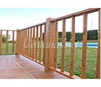 Cat logo de carpinteria metalica juan duran - Barandilla madera exterior ...